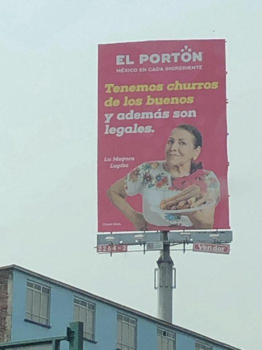 México surrealista churros
