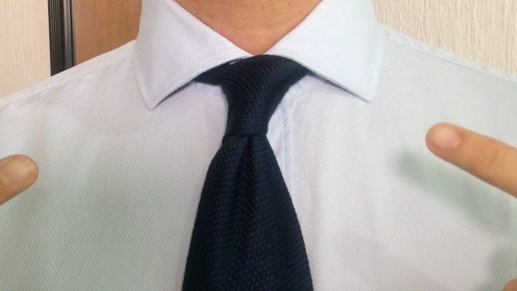 nudo corbata sencillo