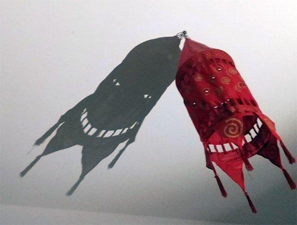 Objetos con mensaje lámpara