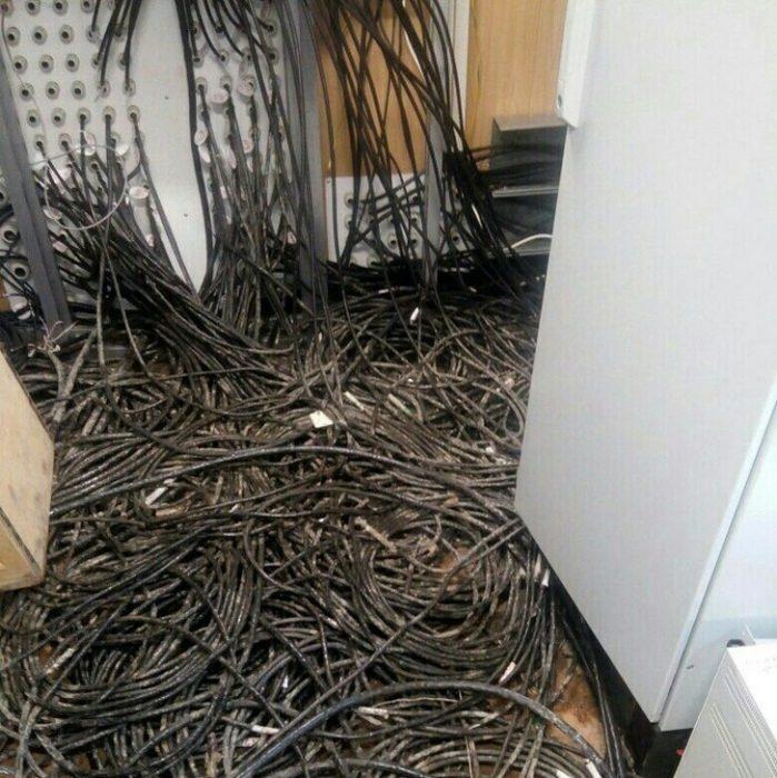 Peor día cables