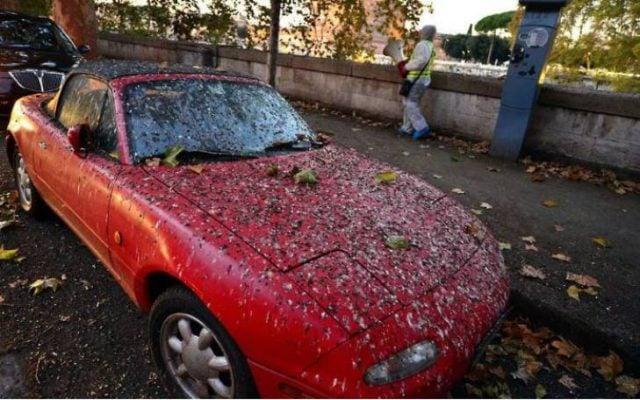 Peor día auto