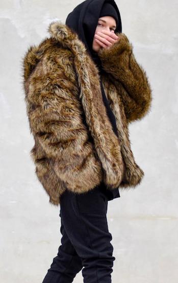 abrigo fur