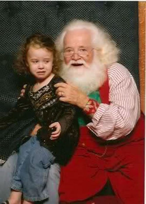 Santa Claus feos 3