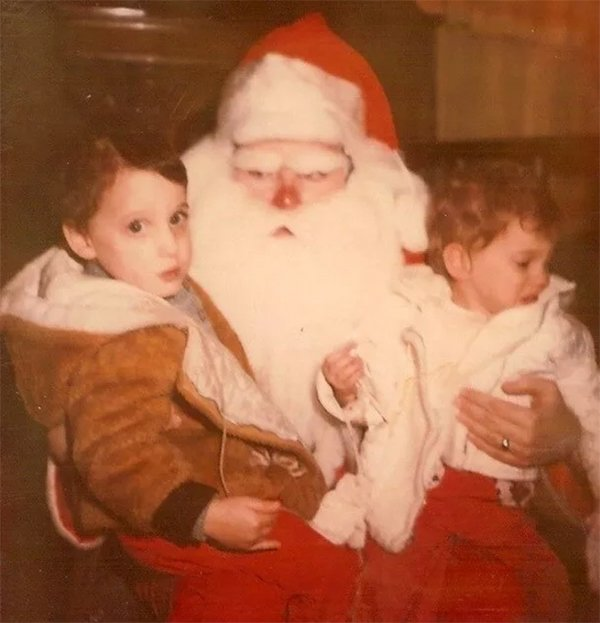 Santa Claus feos 15