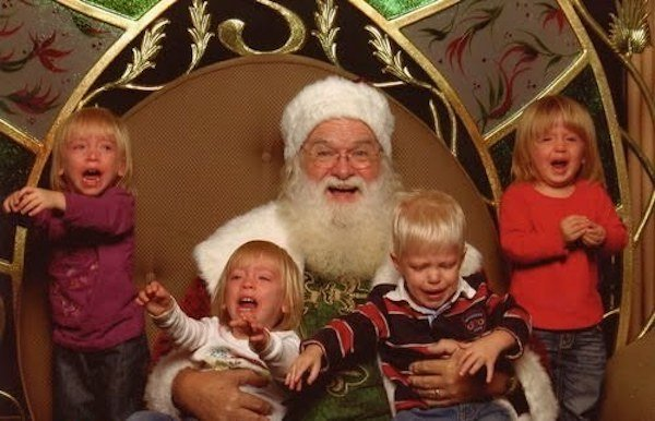 Santa Claus feos 19
