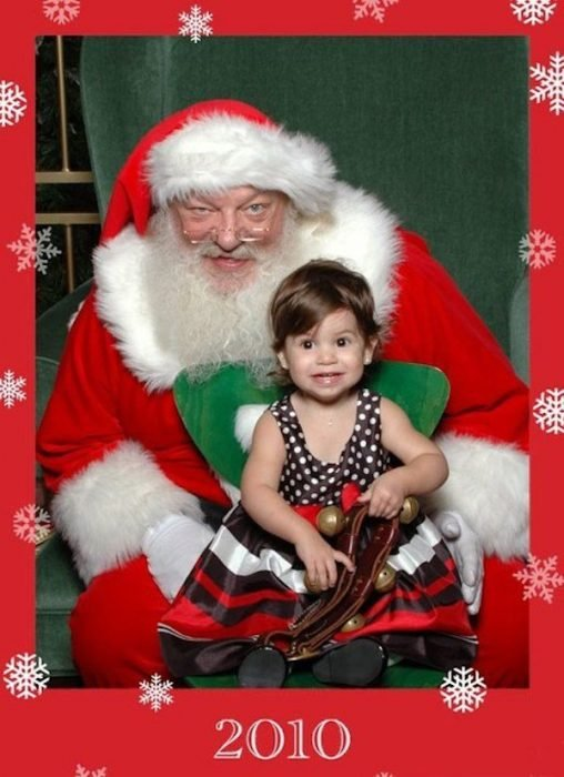 Santa Claus feos 17