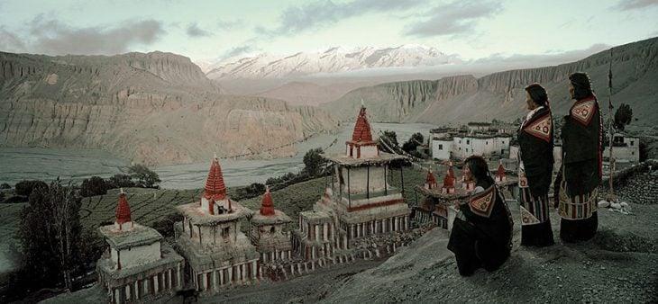 Pueblo Angge, Mustang, Nepal