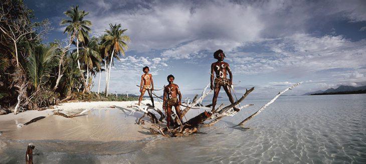 Isla de lava Ni Vanuatu Men Rah, Provincia de Torba, Islas Vanuatu