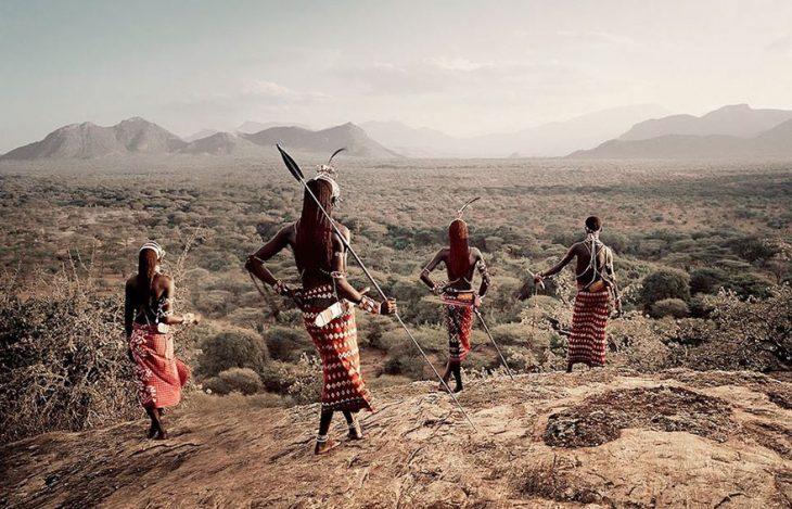Tribu Samburu, Kenia