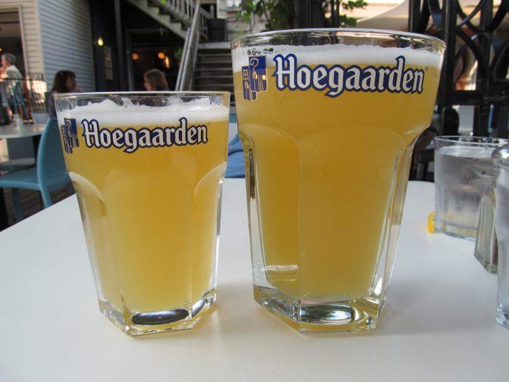 vasos cerveza hoegaarden