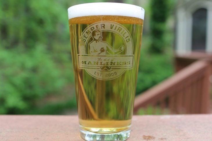 vaso cerveza shaker