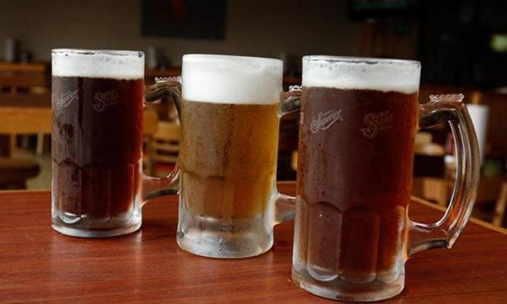 vasos cerveza tarro