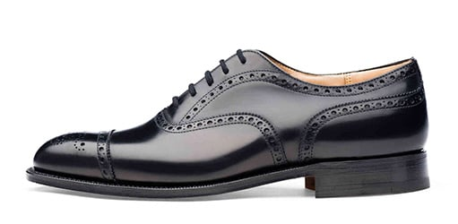 Zapatos de vestir semi-brogue