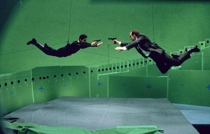matrix detrás de cámaras