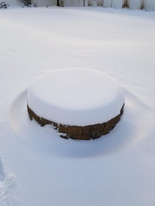 paz en la nieve