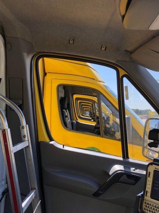 Imágenes de camiones de paz interior.