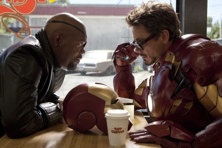 iron man nick fury