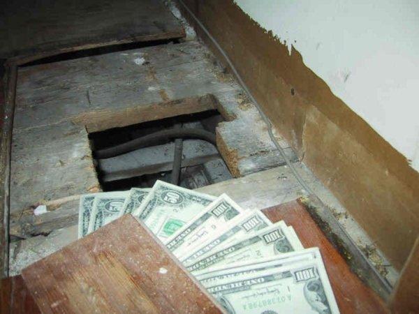Cosas siniestras en casas viejas dinero