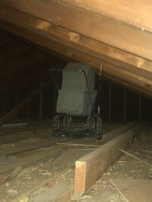 Cosas siniestras en casas viejas carreola