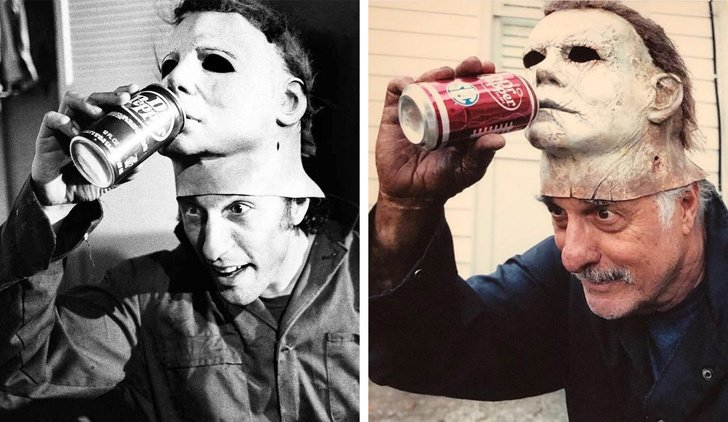antes y después halloween