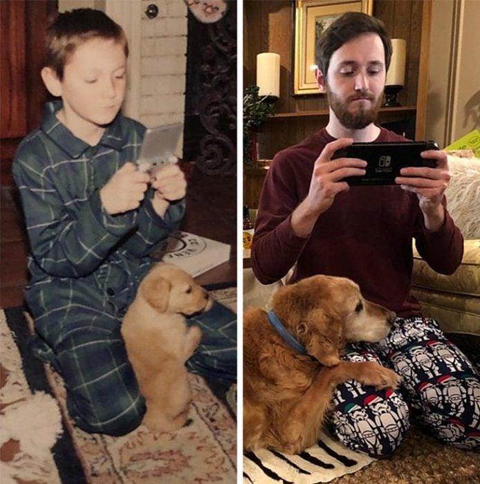 antes y después nintendo