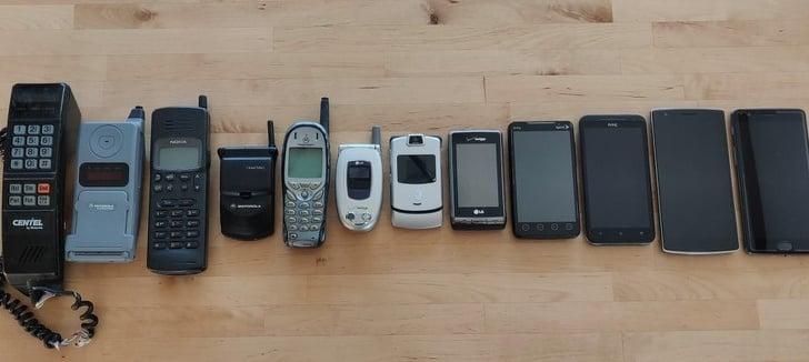 antes y después celulares