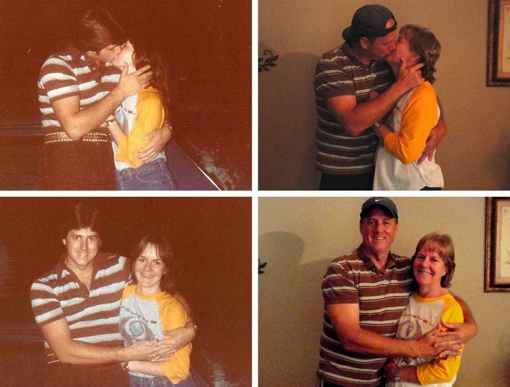antes y después pareja