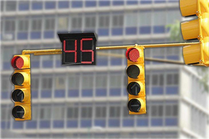 semáforos con números