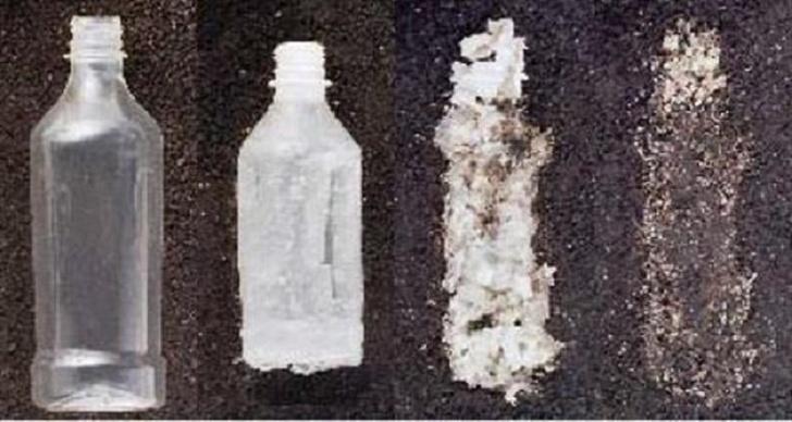 inventos modernos plástico degradable