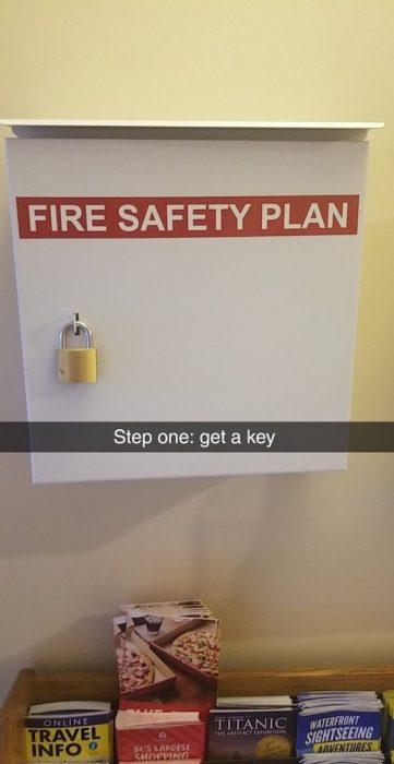 sin medidas de seguridad