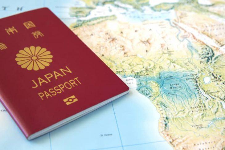 Pasaporte japonés