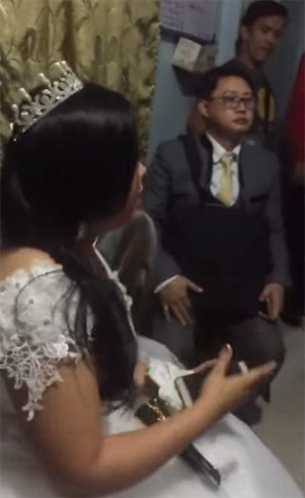 Novia en Filipinas