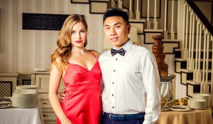 Max Mei y su esposa