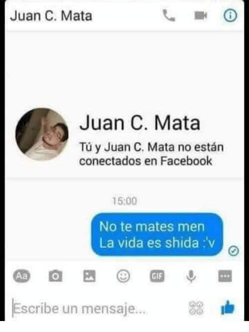 nombres graciosos facebook juan c. mata