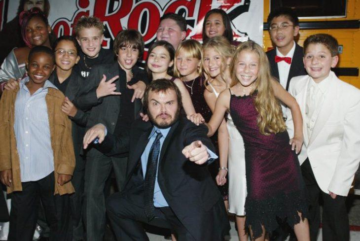 elenco de escuela de rock
