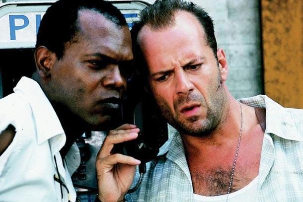 Bruce Willis y Samuel L. Jackson