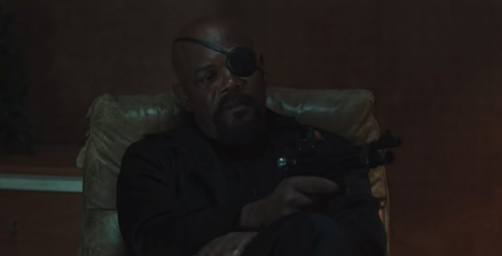 nick fury spider-man