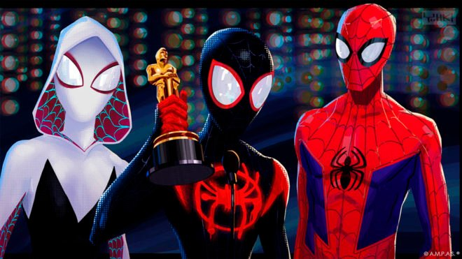 spider-man into the spiderverse