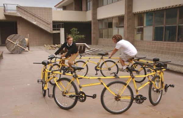 Bicicletas extrañas