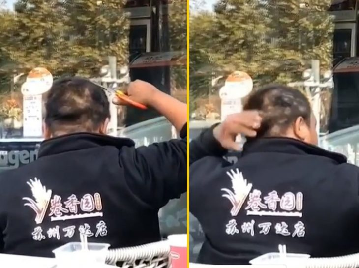 cosas bizarras en China corte