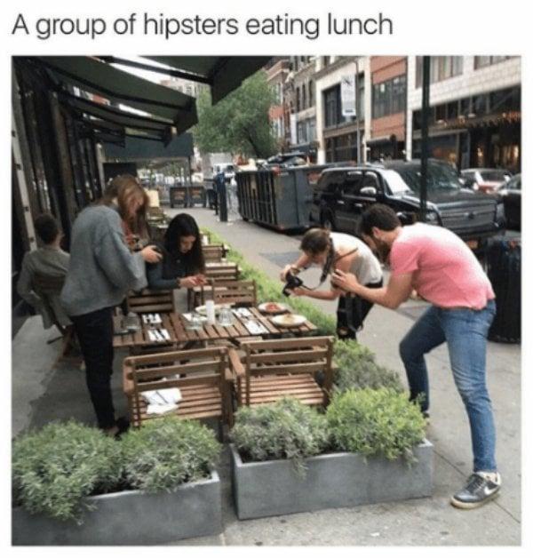 Hipsters ridículos