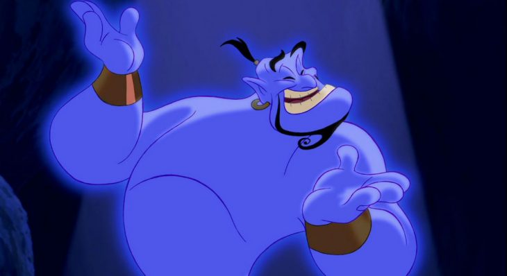 elgendeaz 730x398 Sale el tráiler de '#Aladdin ' y Will Smith luce muy raro como El Genio