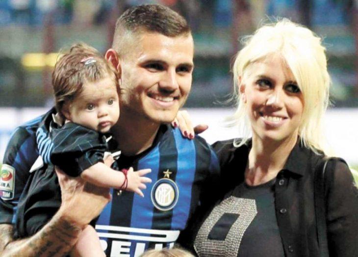 Mauro Icardi y familia