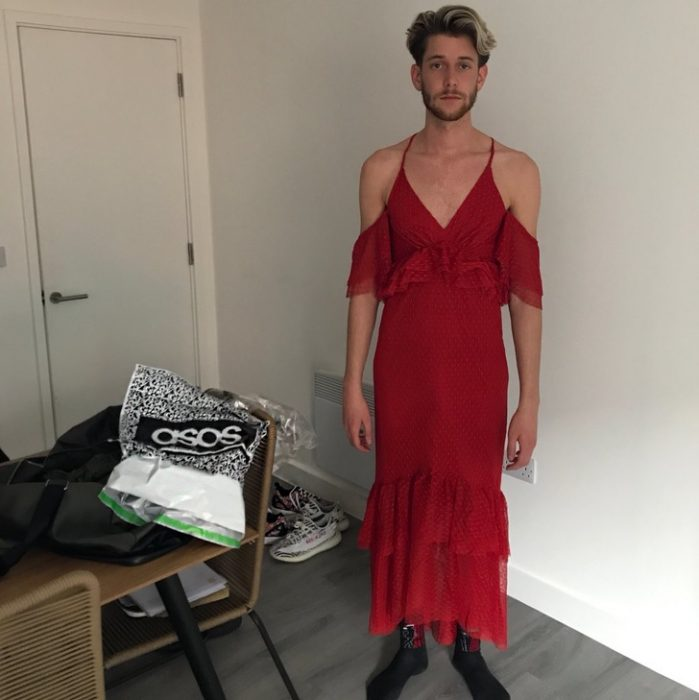 estafas internet vestido