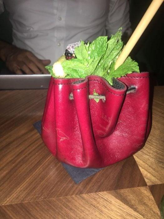 bebidas recipientes raros