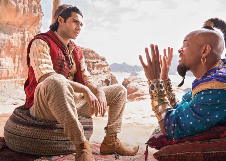 laprimera 730x520 Sale el tráiler de '#Aladdin ' y Will Smith luce muy raro como El Genio