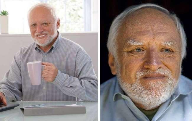 Harold esconde su dolor