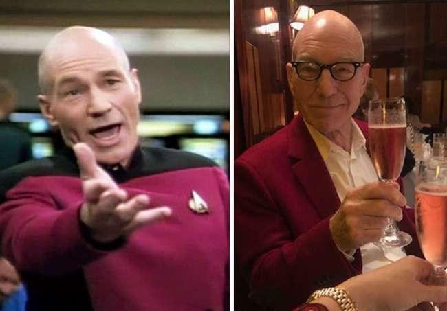 Picard irritado