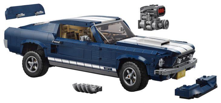 Mustang 67 Lego