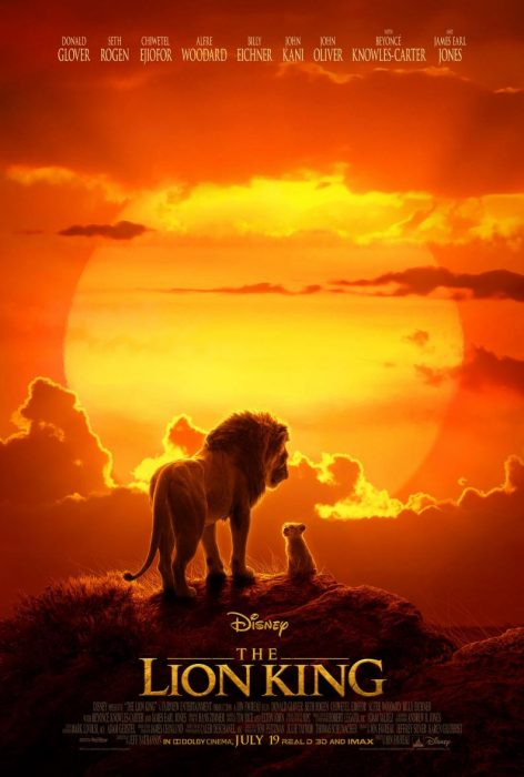 rey leon poster
